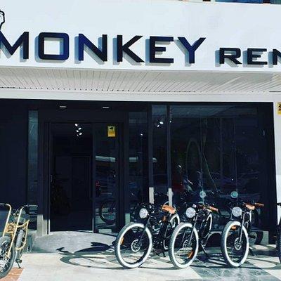 Fachada Monkey Rent Benidorm