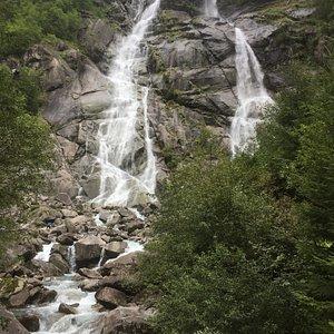 La cascata Nardis