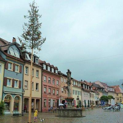 Marienbrunnen i Waldkirch