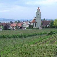Kirche St. Johann Baptist i Hagnau am Bodensee