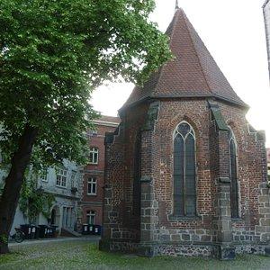 Fronleichnamkapelle i Lutherstadt Wittenberg