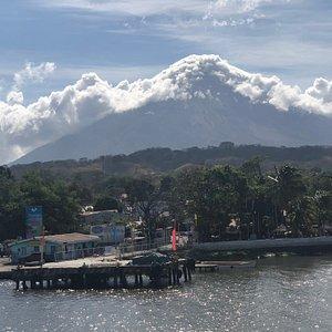 Concepcion volcano Ometepe island
