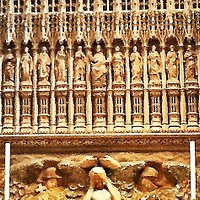 7.  The Wallingford Screen, St Albans Cathedral
