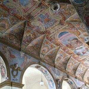 Altro particolare del soffitto della chiesa della Madonna di Loreto