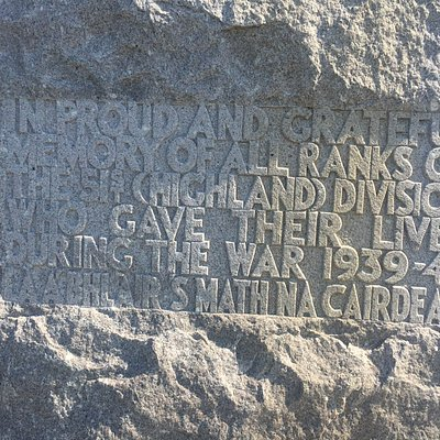 Memorial Stone to the 51st