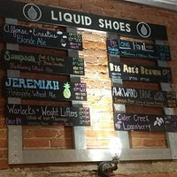 This is the beer selection at the time we were there.  I like fruity so my picks were Jeremiah and Sampson.