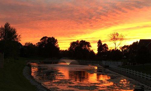 Sunset over Park