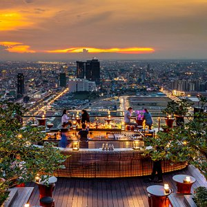 Unwind high above the city and take in spectacular views at one of the best sky bars in Phnom Penh.