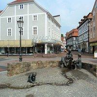 Töpfermarkt-Brunnen i Hofgeismar