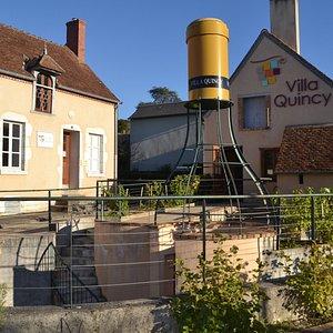 Bienvenue à La Villa Quincy! Musée et boutique des vins de Quincy & Reuilly