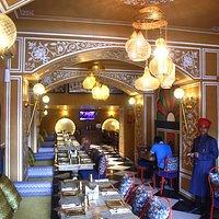 Beautiful Ambiance of Kebabs & Curries Company Hawa Mahal Road.