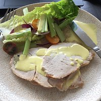 Turkey Salad with Lemon Mayonnaise and Mustard dressing.