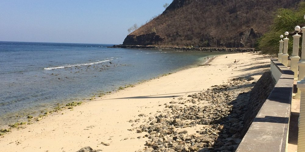 Beach just outside of Dili, beautiful.