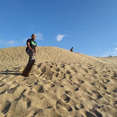 This sand hill@sand dunes become the main attraction to the locals coming here. those who want to feel like we are at the desert in arabic country, can come here. Please take care of our trash since the place not provide the dustbin.