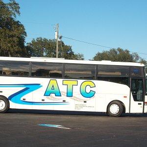 Orlando Charter Bus Company. ATC Buses