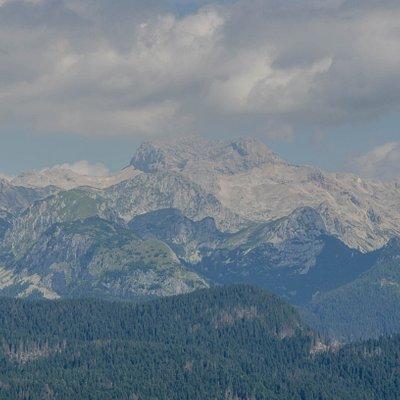 Widok z Vogla na góry