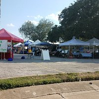 Farmers Market is at the St Cyril of Alexandria Church parking lot on Thursday 3-7pm