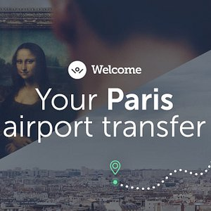 The best way to arrive in Paris.