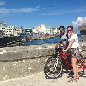 Maravilloso andar la Habana en bicicleta con www.havana-bikes 🤣🚴♀️