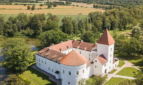 Koluvere castle in western Estonia. A nicely restored example of classic Estonian castle reminding of ancient times!
