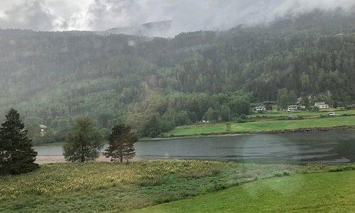 Bergensbanen - A few chalets along the way