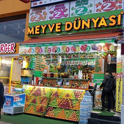 Meyve Dünyası Kadıköy RIHTIM caddesi şubesi