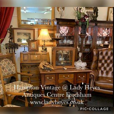 Hampton Vintage & Antiques Emporium @ Lady Heyes Craft & Antiques Centre Kingsley Road Frodsham WA66SU