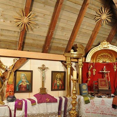 Sakralmuseum in der Pfarrkirche Reit im Winkl Foto: Landenhammer