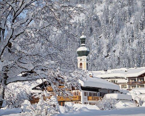 Kurpark Reit im Winkl im Winter Foto: Markus Schmuck