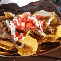 Porção de nachos individual