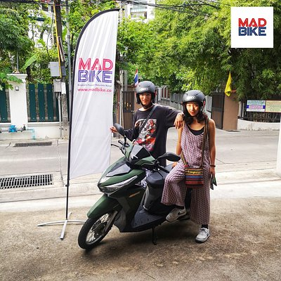 We are always happy to support the travel plans of our motorbike renters 🛵 here in Bangkok. Don't be shy and ask us for recommendations and places to visit 🗺 in Thailand's 🇹🇭 exciting capital city.