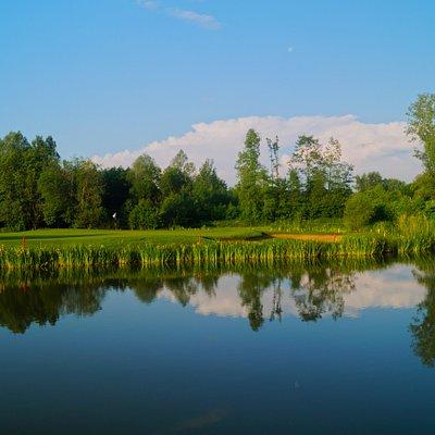 Golfanlage Schloss Egmating Championship Course Bahn 4