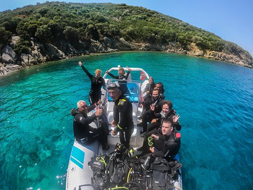 Every day boat dives to more than 21dive sites at Ammouliani/Chalkidiki/Greece!!!