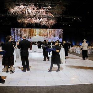 Overland Park Convention Center gala - Catholic Charities Snowball Gala