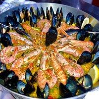 Paella di pesce