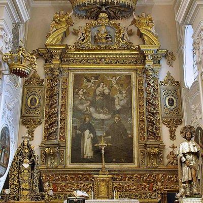 Altare maggiore Chiesa San Domenico in Turi