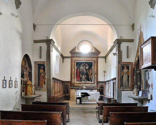 Interno della chiesa del monastero