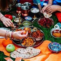 Пикник по-индийски