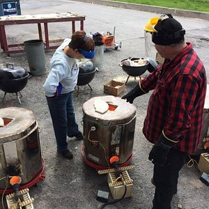 Specialty firing days for novice and intermediate potters.