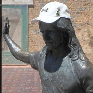 Glenn Frey statue