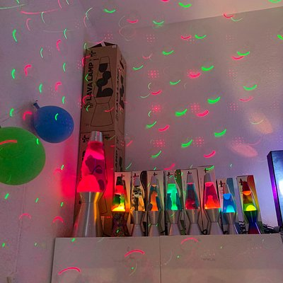 Fun selection of lava lamps!