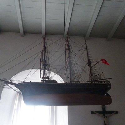 Skt. Ibs Kirke - kirkeskib