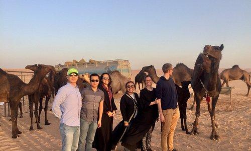 Empty Quarter Desert camping tours