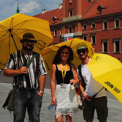 Hello! We're part of the Walkative! Warsaw team. Join us and let's explore Warsaw together!