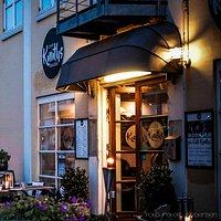Indgang til Cafe Knuth