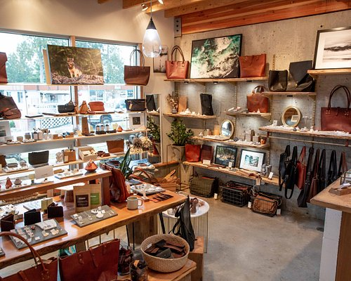 Lovely mix of handcrafted leather, jewellery and other well made home goods.