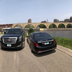 Cadillac Escalade and Mercedes S Class from Executive Transportation in Minneapolis