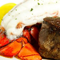 Cold water Lobster tail with Pettie Filet
