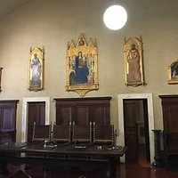 Paintings in the Societa's museum