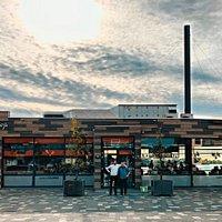 Voorzijde van Eetwinkel het Boothuys.